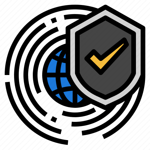 data, internet, network, protect, security icon