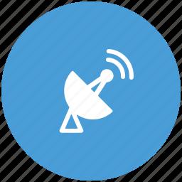 antenna, dish, satellite, space icon