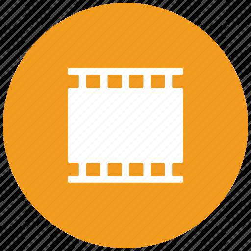 film, film reel, movie, negative icon