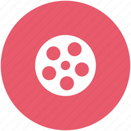 cinema, film, film reel, move icon