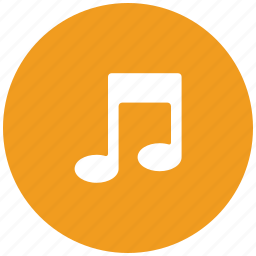 music, musical, note, sign icon