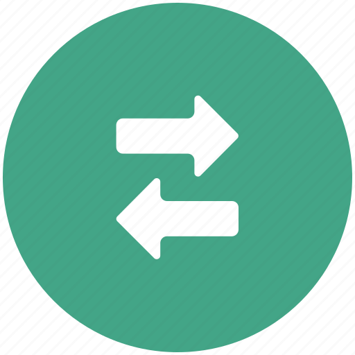 arrows, directions, left, right, transform icon