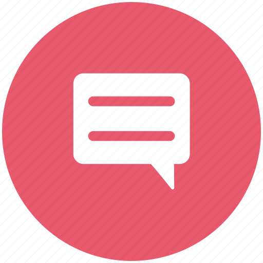 chatting, comments, conversation, speech bubble icon