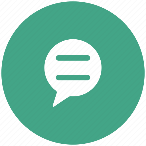 chat, comments, speech bubble, talk icon