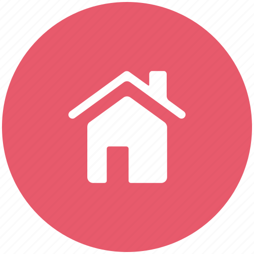 hut, shack, villa, webpage home icon