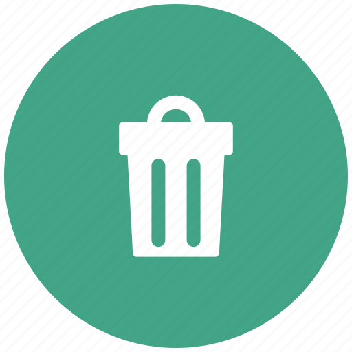 bin, garbage, recycle, trash container icon