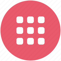 keyboard, keypad, keys, nine icon