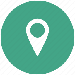 locator, map pin, marker, navigational icon