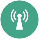signals, tower, wifi, wireless icon