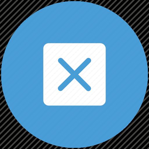 cancel, cross, delete, sign icon
