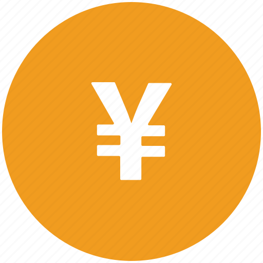 currency, money, sign, yen icon