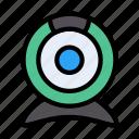camera, interface, ui, video, webcam