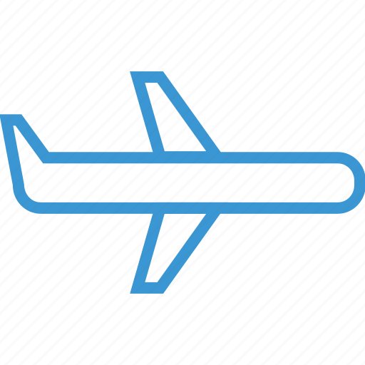 airplane, expense, travel icon
