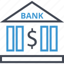 banking, business, dollar, sign icon