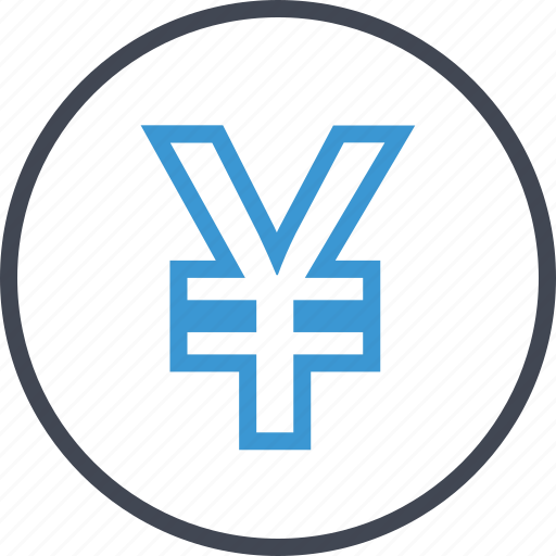 bank, banking, business, yen icon