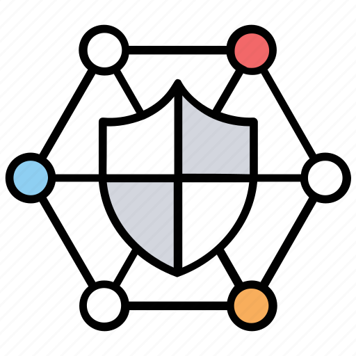 computer security, cyber security, data protection, network security, secure data icon