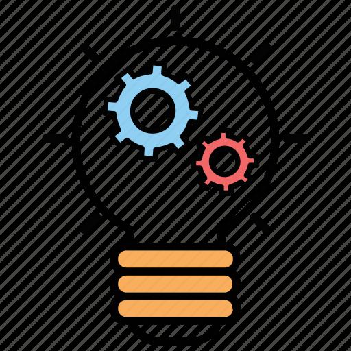 creative idea, creative process, creativity, idea generation, marketing idea icon