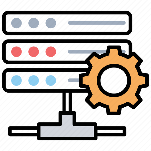 data storage strategy, on page seo, seo remote hosting, seo server optimization, server administration icon