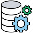 data management, server configuration, server repairing, server setting, server tools icon