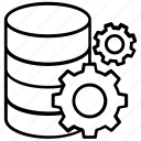 data management, server configuration, server repairing, server setting, server tools icon