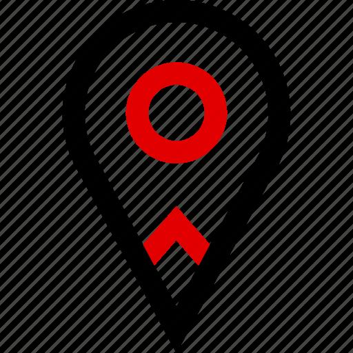 find, locate, search icon