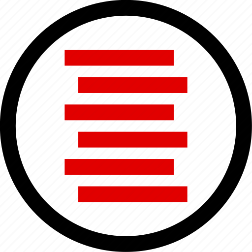 code, lines, menu, setup icon