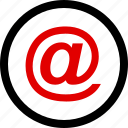 email, mail, menu icon