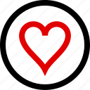 favorite, heart, love, menu icon