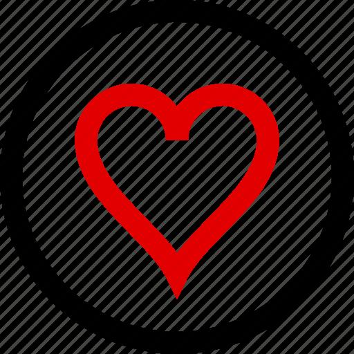 favorite, heart, love, menu icon