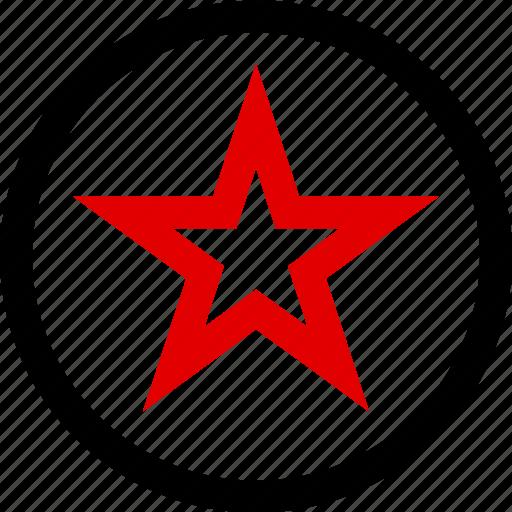 bookmark, menu, special, star icon