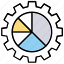 business infographic, data analysis, data management, data visualization, statistics icon