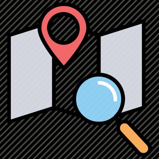 geomarketing, gps marketing, gps tracking, location-based advertising, location-based marketing icon