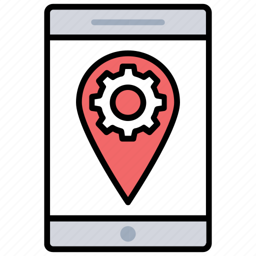 location optimization, location settings, mobile optimization, mobile seo, place optimization icon