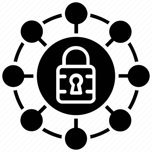 computer security, cybersecurity, it security, network protection, network security icon
