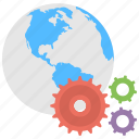 global integration, global optimization, global technology, international manufacturing, web development