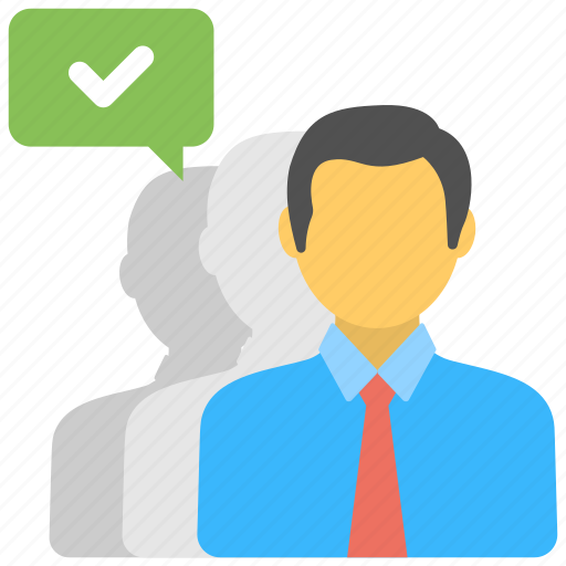 Customer recommendation, endorsement, feedback, reviews, testimonial icon - Download on Iconfinder