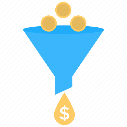 business management, marketing strategy, sales funnel, sales improvement, seo icon