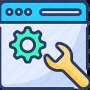 development, gear, page, recuperation, service, setting, web