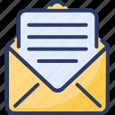 newsletter, messages, envelop, email, letter, notification