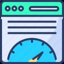 calculation, countdown, development, optimization, page, speed, speedometer