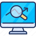 analyse, magnify, monitor, page, performance, seo, web