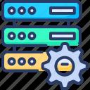connection, database, gear, hosting, seo, server, setting