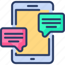 ads, advertising, chat, digital, marketing, messaging, mobile
