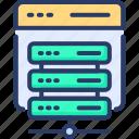 advertising, hosting, network, server, service, storage, web