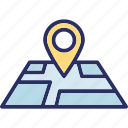 location pin, locator, map location, map pin icon