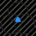circle, color, palette, scheme icon