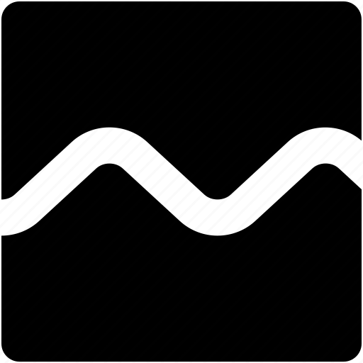 Line, sine, sound, synth, wave icon - Download on Iconfinder
