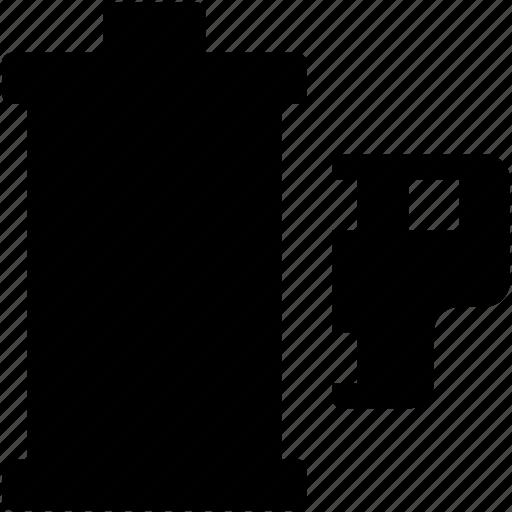 camera reel, image reel, reel, reel box icon