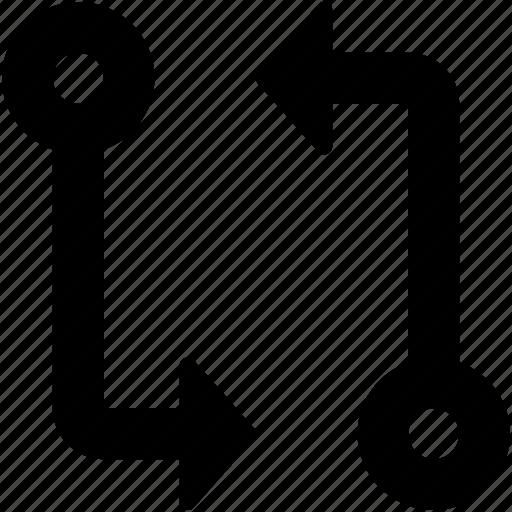 Initializing, refresh, sync, sync arrows, synchronization icon - Download on Iconfinder