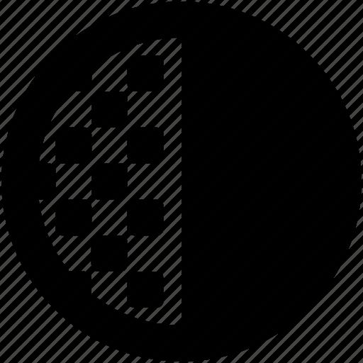 brightness button, color, color contrast, contrast, graphics editing icon